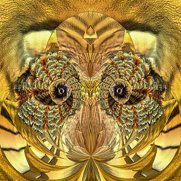 Phantasievolle abstrakte Twirl-Illustration 106/76 von PICTURES MAKE MOMENTS