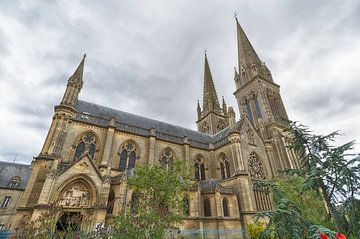 Normandische Kirche von Mark Bolijn