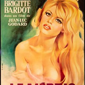 Brigitte Bardot sur Brian Morgan