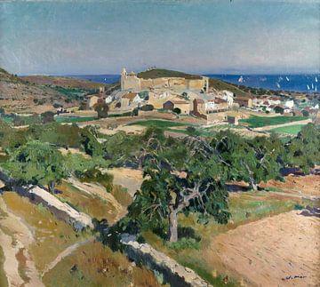 Joaquin Mir Trinxet~Landschaft Schloss Calafell