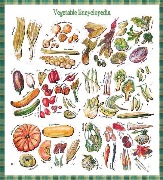 Groente Encyclopedia van Ariadna de Raadt