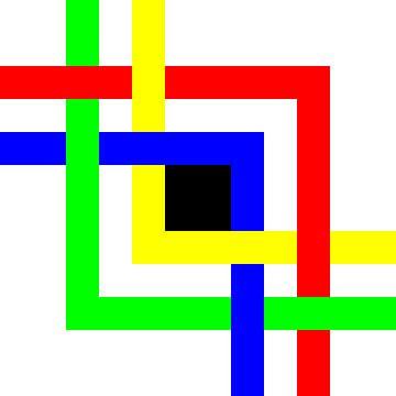 Onder en boven | Permutatie | ID=12 | V=51 | 4xL | P #01-E van Gerhard Haberern