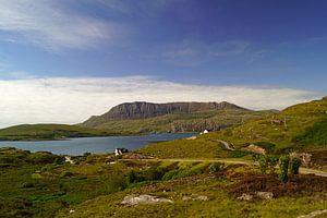 Landscape at Ullapool in Scotland