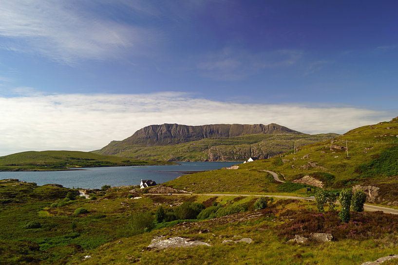 Landscape at Ullapool in Scotland van Babetts Bildergalerie
