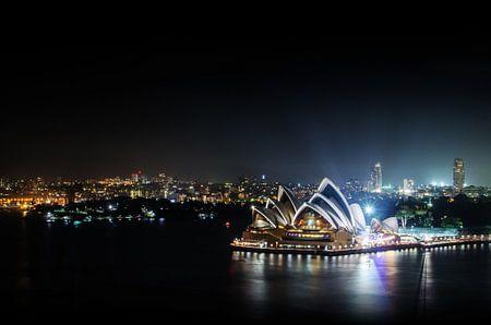 Sydney  Opera House and Woolloomooloo Bay