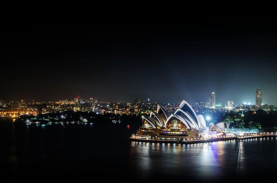 Sydney  Opera House and Woolloomooloo Bay van Ricardo Bouman | Fotografie