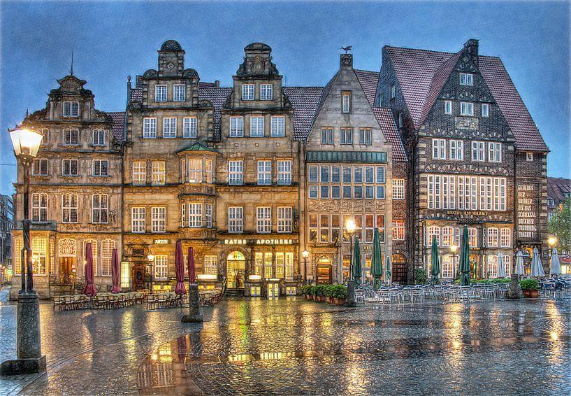 Grote Markt - Bremen van Mike Bing