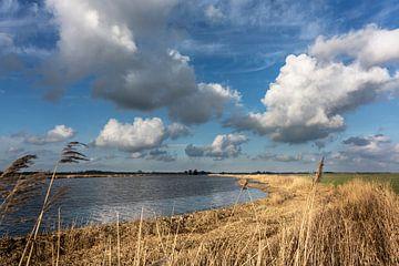 Het Reitdiep in Groningen van Bo Scheeringa Photography