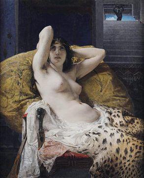 Kleopatra, Mosè Bianchi - 1865 von Atelier Liesjes