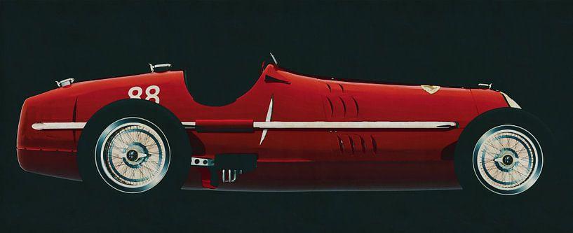 Alfa Romeo 8c 1935 van Jan Keteleer