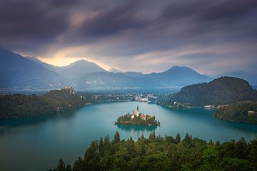Lake Bled van Dennis Donders
