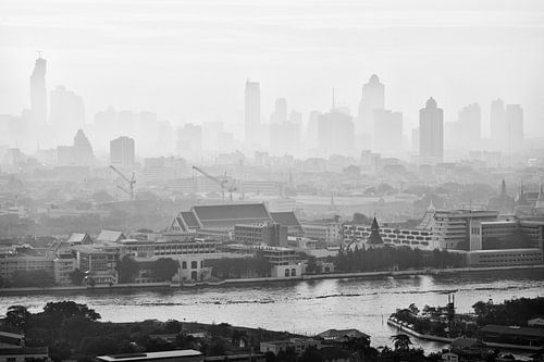 Early morning in Bangkok van Jelle Dobma