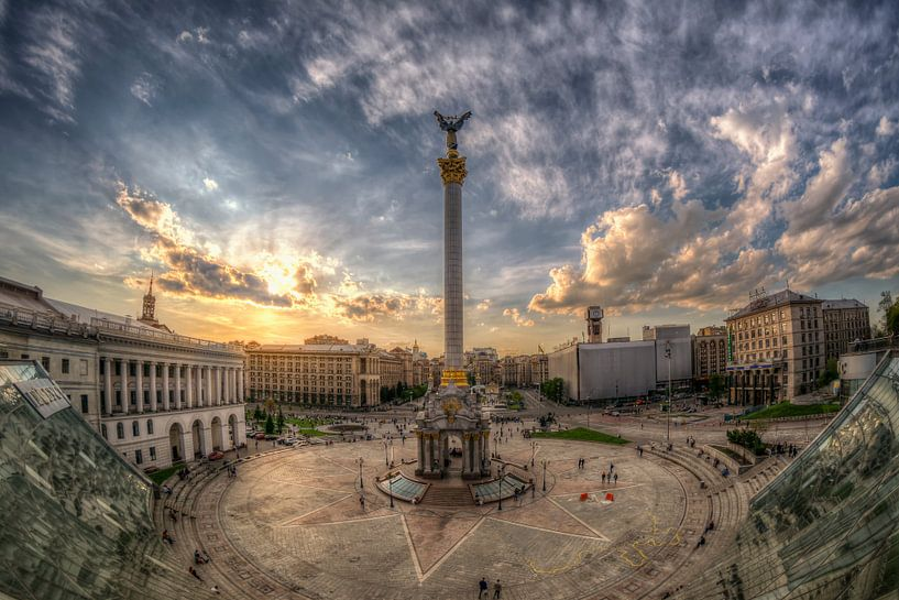 Kiev Madjan Maidan van Carina Buchspies
