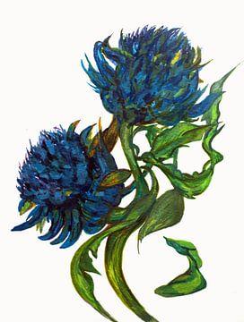 Wiedergeburt von Botanical (2) von Ineke de Rijk