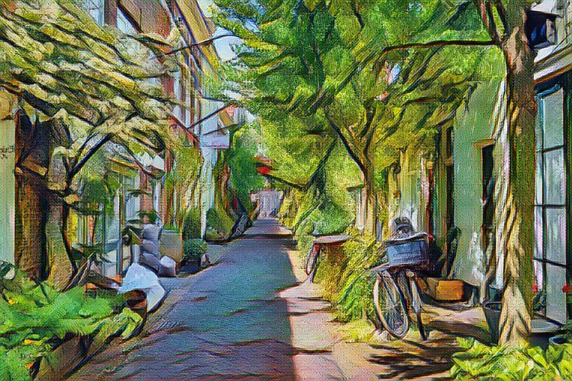 Groen Stadsgezicht Haarlem van Hilda Weges