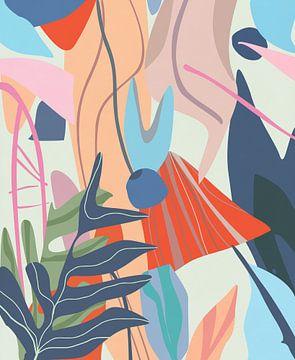Tropisches Laub von Angel Estevez