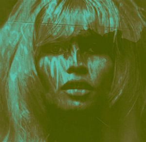 Brigitte Bardot Love - 24 colours Game - Dirty Green