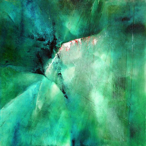 Abstracte samenstelling: Groene energie van Annette Schmucker