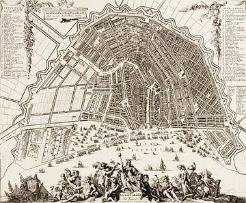 Amsterdam, Romeyn de Hooghe, 1754 van Atelier Liesjes