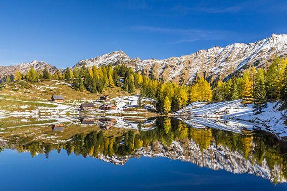 Een Bergmeer in de Herfst