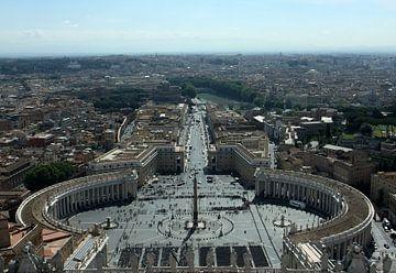 Sint Pietersplein Rome van Joost Coffeng