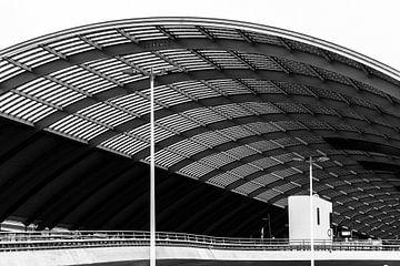 Amsterdam Central Station neuer Teil von Bart Rondeel
