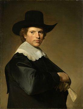 Portret van een man, Johannes Cornelisz. Verspronck
