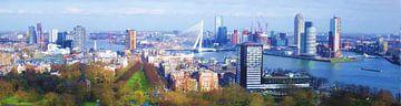 Rotterdam vanaf de Euromast van Frans Jonker
