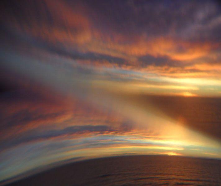 Sonnenspiegelung van Peter Norden