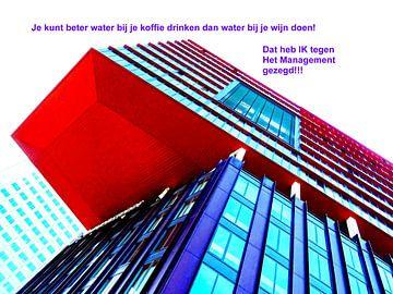 Small Talk: Water Bij De Wijn Doen! von MoArt (Maurice Heuts)