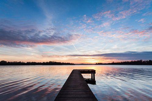 Sonnenuntergang Paterswoldsemeer von Frenk Volt