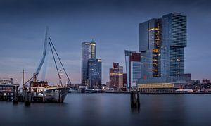 Skyline Rotterdam van Patrick Rodink