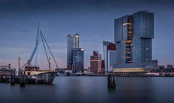 Skyline Rotterdam von Patrick Rodink
