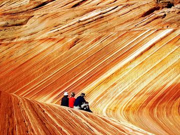 The Wave in Paria Canyon sur Renate Knapp