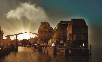 Wolwevershaven - Dordrecht von Bert Seinstra