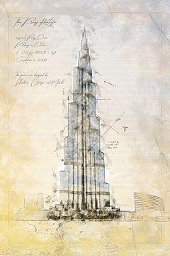 Burj Khalifa, Dubai van Theodor Decker