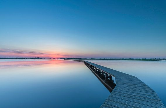 Jetty sunset landscape sur Marcel Kerdijk