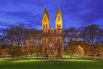 Herz-Jesu-Kirche Freiburg von Patrick Lohmüller