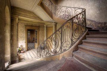 escalier en acier sur Kristof Ven