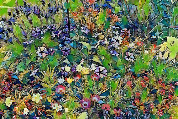 Blumenwiese Pastell