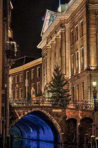 Stadhuis en Oude gracht, Utrecht van