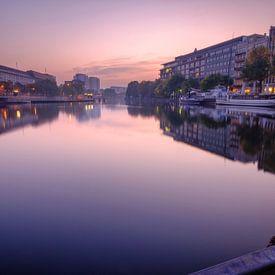 Berlijnse zonsopgang van Johan Vanbockryck