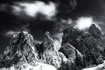 Dolomites - Val di Funes - Fine Art sur Vincent Fennis