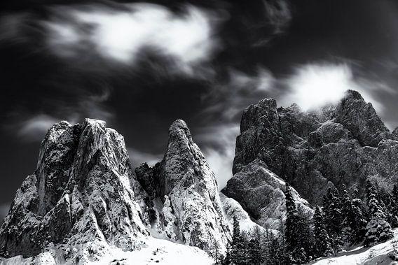 Dolomiten - Val di Funes - Fine Art van Vincent Fennis