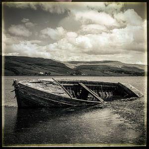Altes Boot bei Talisker