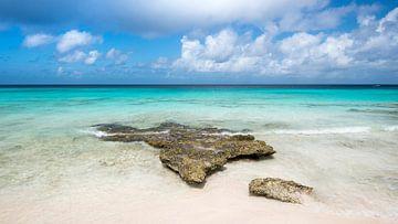 Tropisch strand Klein Curacao van Keesnan Dogger Fotografie