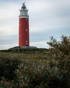 Vuurtoren Eierland in Texel van OCEANVOLTA