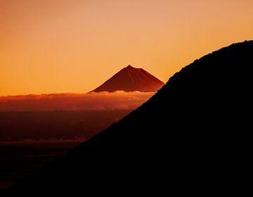 Grote rode berg van Alexander Dorn