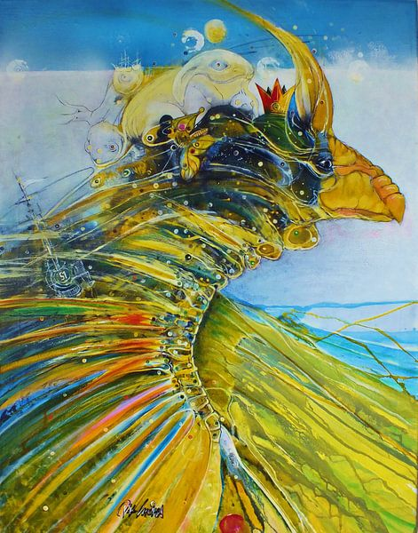 Der Königsvogel van PETER K. ENDRES