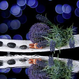 Purple bokeh spa van Patricia Verbruggen